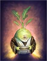 Obi Wan Kohlrabi by NelEilis