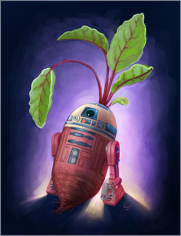 R2-Beetroot by NelEilis