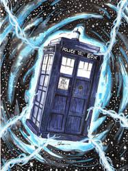 Tardis - Dr Who by DredFunn