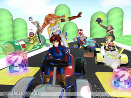 Arcadia Kart by calbhach