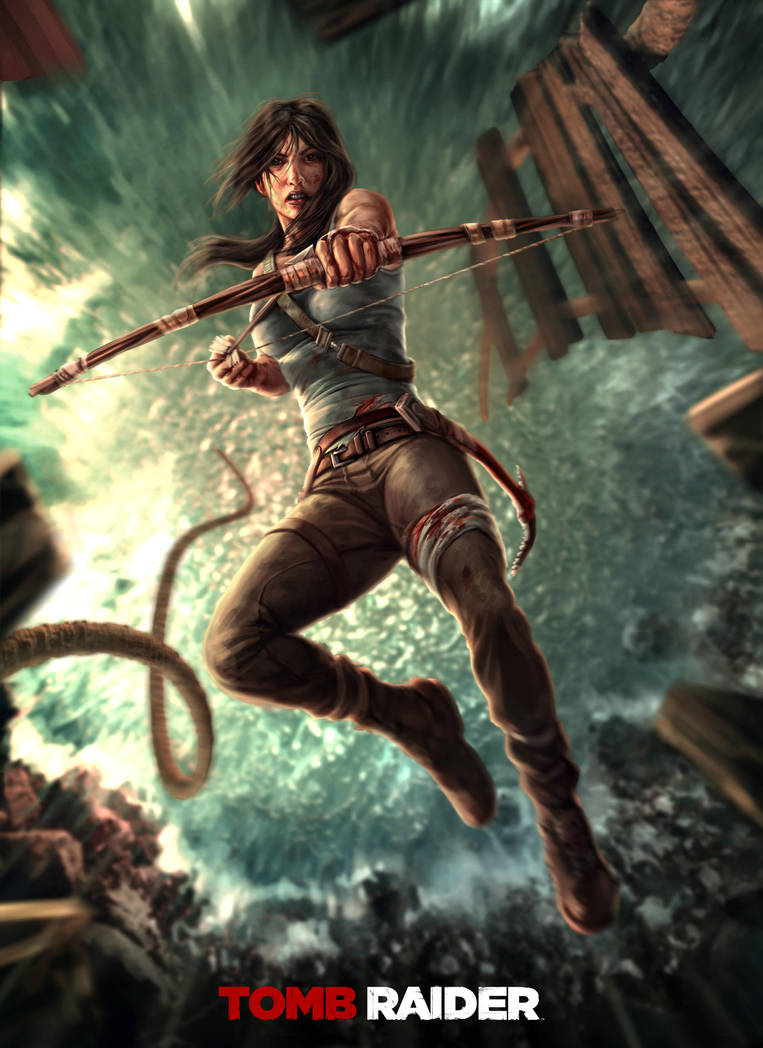 Tomb Raider by norbface