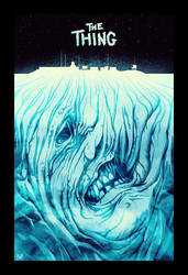 The Thing poster by norbface