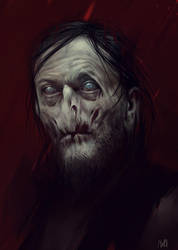 Daryl Dixon Zombie by norbface