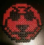 gaijin goombah logo youtube perler  by Nastiwolf