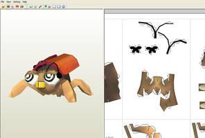 Flipbug papercraft - WIP by aardonix