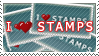 I heart stamps by abbie-wabbie