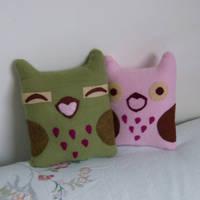 Kawaii Cuddly Owls by slumbergirl