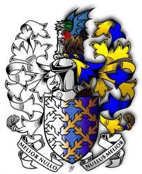 Embellished Heraldry 6 by PeridotPangolin