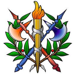 Embellished Heraldry 8 by PeridotPangolin
