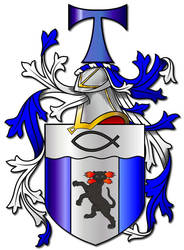 Embellished Heraldry 9 by PeridotPangolin