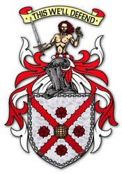 Embellished Heraldry 14 by PeridotPangolin
