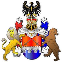 Embellished Heraldry 17 by PeridotPangolin