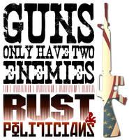 GUNS by PeridotPangolin