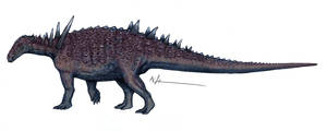 Alabama Nodosaurid by Ashere