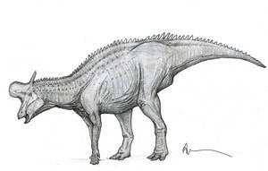 Lambeosaurus by Ashere
