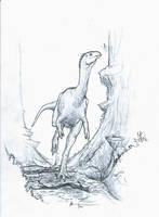 Chilesaurus by Ashere