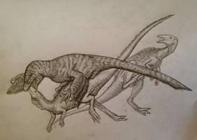 Rough Dakotaraptor by Ashere