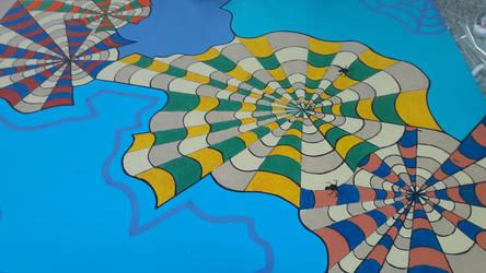 Mural San Martn.  by estevesalberto35