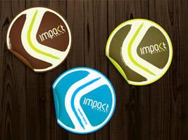 impakt stickers by crezo