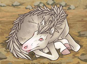 Velo Newborn - Albino by daughterofthestars