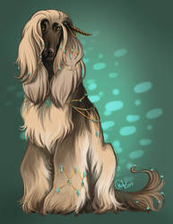 Turquoise Aquila by daughterofthestars