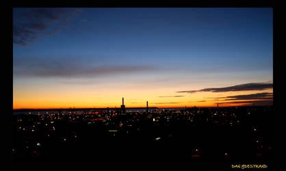 Helsingborg City Sunset by Sunrobot