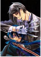 Ciel and Sebastian by epresvanilia