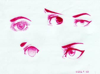 Eye Practice by epresvanilia