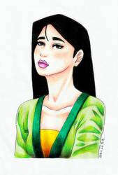 Mulan by epresvanilia