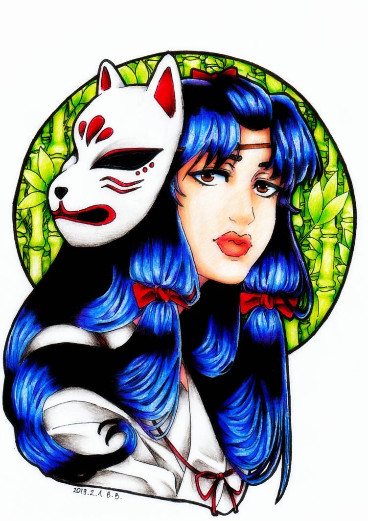 Shrine Maiden by epresvanilia