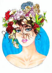 FlowerHead by epresvanilia