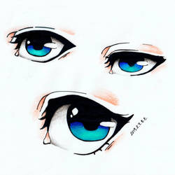 Blue Eyes by epresvanilia
