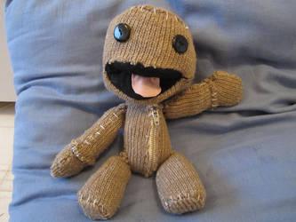 Sackboy Plushie by Hedgehogyawn