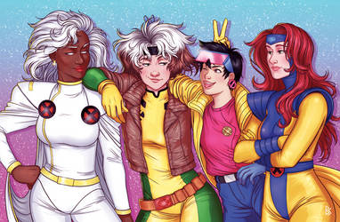 X-Men Throwback! by trojan-rabbit