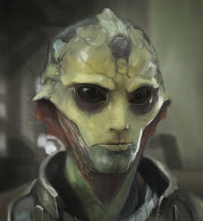 Thane Krios Study by MonoFlax