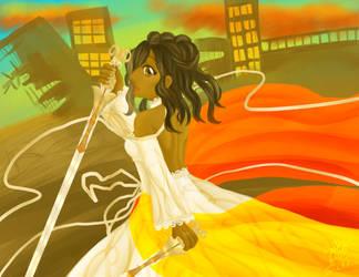 Princess of Swords by Cassie-Drey