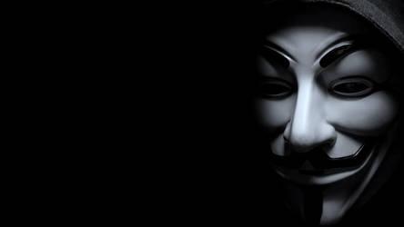 Anonymous Desktop 1920x1080 FULL HD by FABRYKING61