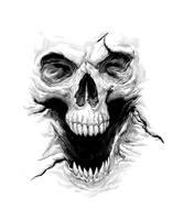 Skull by KillKennyKat