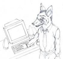 Fennec Foxed by arazia