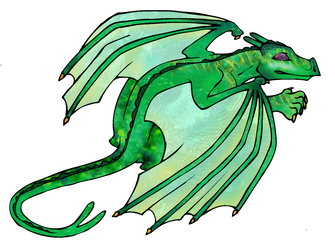 Pernworld - Green Szadith by arazia