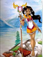 Sailor Unelanuhi, Protector of Earth by PandanaLove