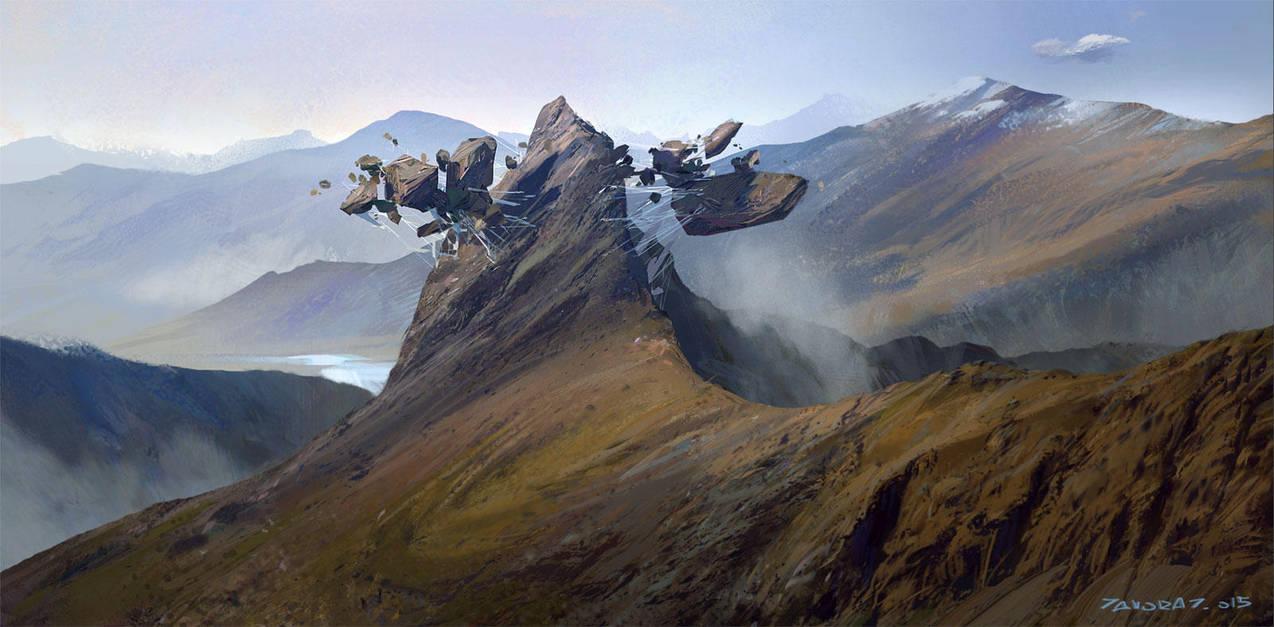 Mountain Nest by Javoraj