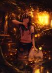 The girl from the garden by HappyrlinhosGFX