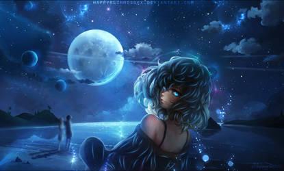 The moonlight glow by HappyrlinhosGFX