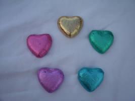 Chocolate hearts2 by crimsonphotostock