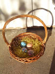 Painted Eggs by crimsonphotostock