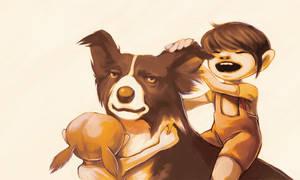 family dog by iella
