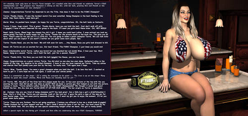 Behind The Ring: Torrie Celebration10-25-18 by FSWC