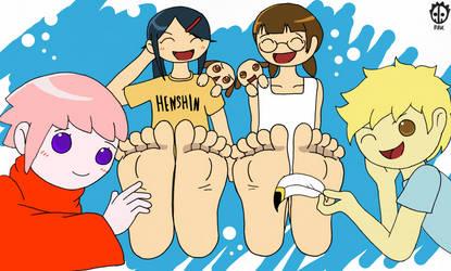 Nemu Nemu Tickles Tickles by BoneBoneKing