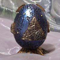Polymer Clay Alien Egg by ValerianaSolaris
